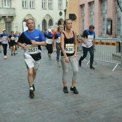 Tallinna Maratoni Sügisjooks 10 km - Aleksei Stsetinin (2651), Anneli Kala (6347)