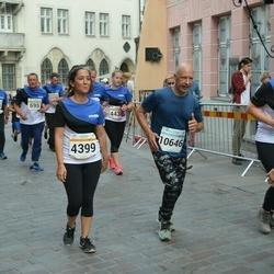 Tallinna Maratoni Sügisjooks 10 km - Beril Aydogan (4399), Marti Stein (10646)