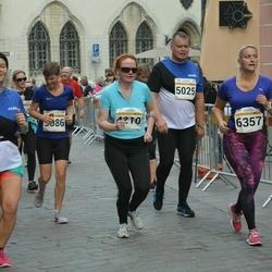 Tallinna Maratoni Sügisjooks 10 km - Kaja Hinno (4210), Agu Kipso (5025)