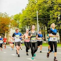 Tallinna Maraton - Anni Oja (887), Margus Põlma (892), Hanna Langer (1618)