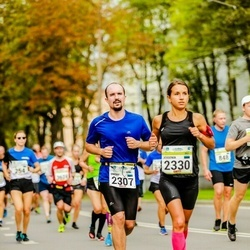 Tallinna Maraton - Agnes Kullap (2307), Jevgenia Kolk (2330)