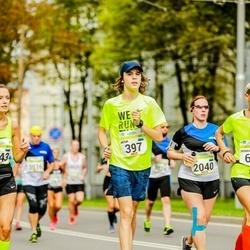Tallinna Maraton - Artur Võlu (397), Liina Kaldma (2040)