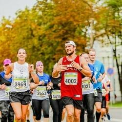 Tallinna Maraton - Anni Jäntti (2653), Aleksandra Kazanina (3969), Jevgenijs Kazanins (4002)