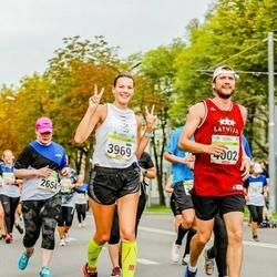 Tallinna Maraton - Anu Räisänen (2654), Aleksandra Kazanina (3969), Jevgenijs Kazanins (4002)