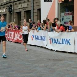 Tallinna Maratoni Sügisjooks 10 km - Aarne Nirk (178), Mari Sauga (639)