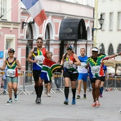 Tallinna Maraton - Beryl Louise Bernardette Maharage (2357), Sonia Smith (2359), Stefan Brett Maharage (2361), Samantha Krieger (2362)