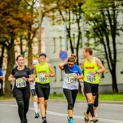 Tallinna Maraton - Michael Vauth (1076), Carolin Pöppe (1080), Dina Romano (1798), Eeva-Mari Virtanen (1878)