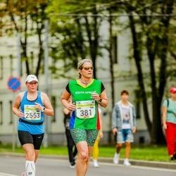 Tallinna Maraton - Adel Coetzee (381), Tiina Teidla (2553)