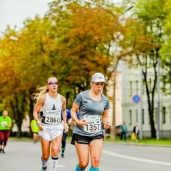Tallinna Maraton - Annemari Muru (1357), Natalia Gribovskaya (2860)