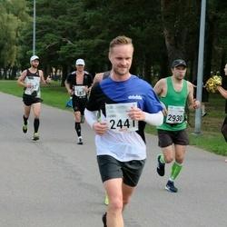 Tallinna Maraton - Raimo Ülavere (187), Denis Piskunov (2441), Andero Sopp (2930)