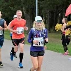 Tallinna Maraton - Renetta Kjeldsen (1419), Ergo Eggert (1731), Andre Sammelselg (2291)