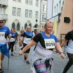 Tallinna Maratoni Sügisjooks 10 km - Arle Kõressaar-Vallimaa (8098), Tauno Topkin (8795)