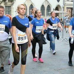 Tallinna Maratoni Sügisjooks 10 km - Andrus Everst (8405), Kersti Jõesaar (8978), Agnes Rull (11932)