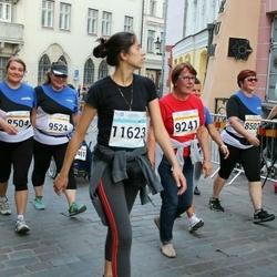 Tallinna Maratoni Sügisjooks 10 km - Jelena Jeleova (9241), Anastassia Konovalova (11623)
