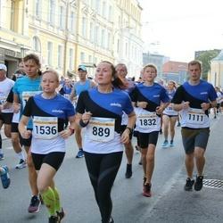 Tallinna Maratoni Sügisjooks 10 km - Kaspar Bork (1111), Artur Soo (1832)