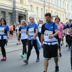 Tallinna Maratoni Sügisjooks 10 km - Mauricio Roa (5412), Marek Beek (5416), Triin Hindrikus (9698), Birgit Veermäe (9699), Marta Meriloo (9722)