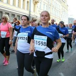 Tallinna Maratoni Sügisjooks 10 km - Karin Kadaste (11524), Agne Laht (11598)