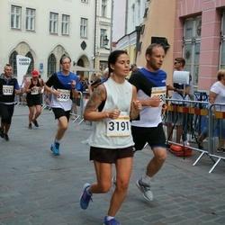 Tallinna Maratoni Sügisjooks 10 km - Anna Maria Võsu (3191), Taavi Tuulsalu (5312)