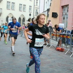 Tallinna Maratoni Sügisjooks 10 km - Ahto Linholm (2272), Andrejs Dudovics (4542), Annika Vaher (10117)