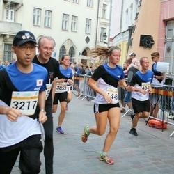 Tallinna Maratoni Sügisjooks 10 km - Carmen Kuntro (1448), Hideo Shinozuka (3217), Agata Jankowska-Burek (3853), Urmas Sassian (4041)