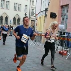 Tallinna Maratoni Sügisjooks 10 km - Jukka Hovila (3825), Anna-Maria Tagu (6727)
