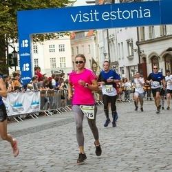 Tallinna Maraton - Stijn Ieven (651), Birgit Paal (2425)