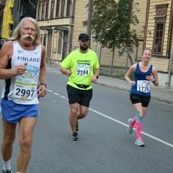 Tallinna Maraton - Tereza Lopatarova (1776), Aleksei Ronkel (2794), Kauko Isomäki (2997)