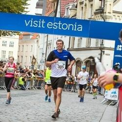 Tallinna Maraton - Rain Gussev (305), Annika Rand (1005)