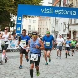 Tallinna Maraton - Harri Nurmi (546), Andrus Belõi (791), Jouko Hiltunen (2774), Adalbjorg Skuladottir (3540)
