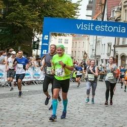 Tallinna Maraton - Agur Jõgi (567), Mathias Kangur (983), Janek Pintman (2567), Amy Papineau (3449), Susanna Roe (3453)