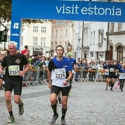 Tallinna Maraton - Arto Nortunen (2151), Riho Vals (2226)