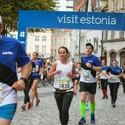 Tallinna Maraton - Mikk Männamets (1109), Ann-Mari Koppel (1838)