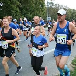 Tallinna Maraton - Britt Kalam (2949), Ahto Eesmäe (3903)