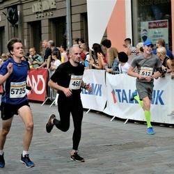 Tallinna Maratoni Sügisjooks 10 km - Andi Piliste (460), Tauri Põlda (612), Uku Leipalu (5725)
