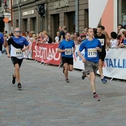 Tallinna Maratoni Sügisjooks 10 km - Priit Kärner (371), Kaarel Kais (396), Henri Kompus (869), Aleksei Panarin (2179)