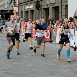 Tallinna Maratoni Sügisjooks 10 km - Kaspar Bork (1111), Berit Grøtte (1226), Karl Terrence Toome (4265)
