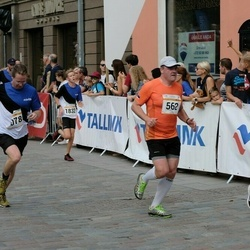 Tallinna Maratoni Sügisjooks 10 km - Aadu Polli (562), Artur Soo (1832)
