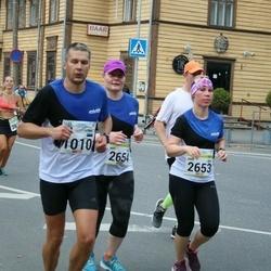 Tallinna Maraton - Rain Laager (1010), Anni Jäntti (2653)