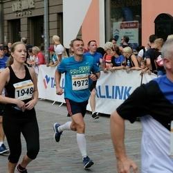 Tallinna Maratoni Sügisjooks 10 km - Katerina Koreškova (1948), Arlis Pipenberg (4972)