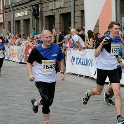 Tallinna Maratoni Sügisjooks 10 km - Lauri Tomingas (1553), Ago Pukspuu (1648)