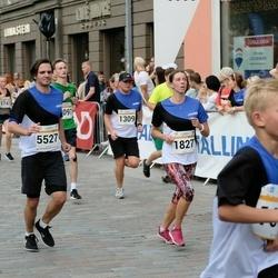 Tallinna Maratoni Sügisjooks 10 km - Kert Normet (1309), Piret Pärtli (1827), Andre Poopuu (5527)