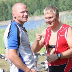 RMK Kõrvemaa Triatlon - Mati Agukas (234), Meelis Valk (255)