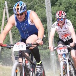 RMK Kõrvemaa Triatlon - Matti Karja (155), Tauno Roosimaa (195)