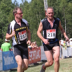 RMK Kõrvemaa Triatlon - Raigo Tõnisalu (217), Paul Wilbrink (218)