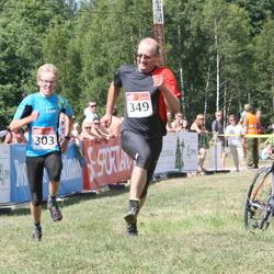 RMK Kõrvemaa Triatlon - Marten Aolaid (303), Lembit Nokkur (349)