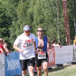 RMK Kõrvemaa Triatlon - Tiia Eeskivi (382), Hannes Pool (470)