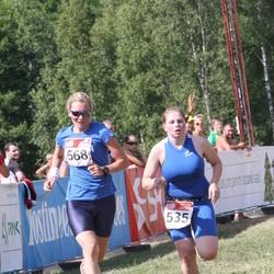 RMK Kõrvemaa Triatlon - Karin Kallas (535), Brit Rammul (568)