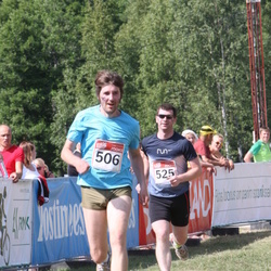 RMK Kõrvemaa Triatlon - Timo Villak (506), Parvo Parts (525)