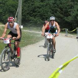 RMK Kõrvemaa Triatlon - Henri Rüüsak (46), Timo Suppi (63)