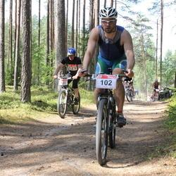 RMK Kõrvemaa Triatlon - Tauno Põldoja (102), Raivo Pellja (123)